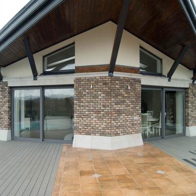 Раздвижные окна для террасы с алюминиевым профилем