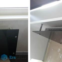 Остекление радиатора,ограждение радиатора из стекла,стекло в интерьере
