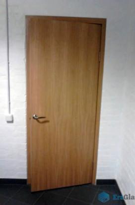 Проем перед монтажом стеклянной двери