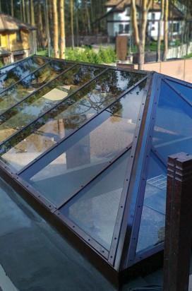 Стеклянные крыши