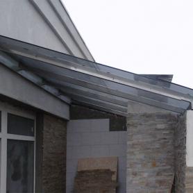 Стеклянная крыша лоджии