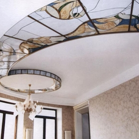 stained-glass-ceiling-saved-by-chicncheapliving-blogspot-com_