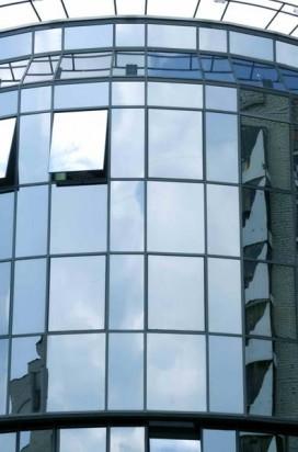 Монтаж стеклянных фасадов