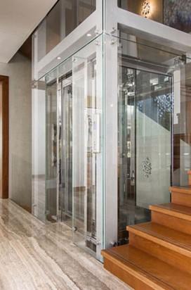 Остекление лифта