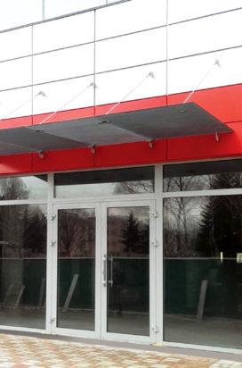 Скляні фасади