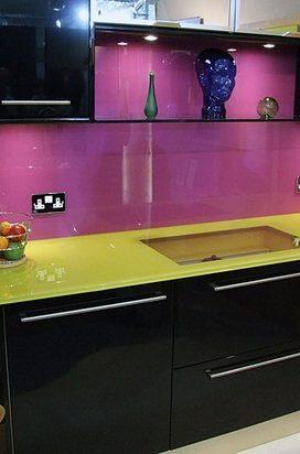 кухонный фартук УЛ. ГРИНЧЕНКА (КВАРТИРА)