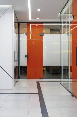 Офисные перегородки в алюминиевом профиле